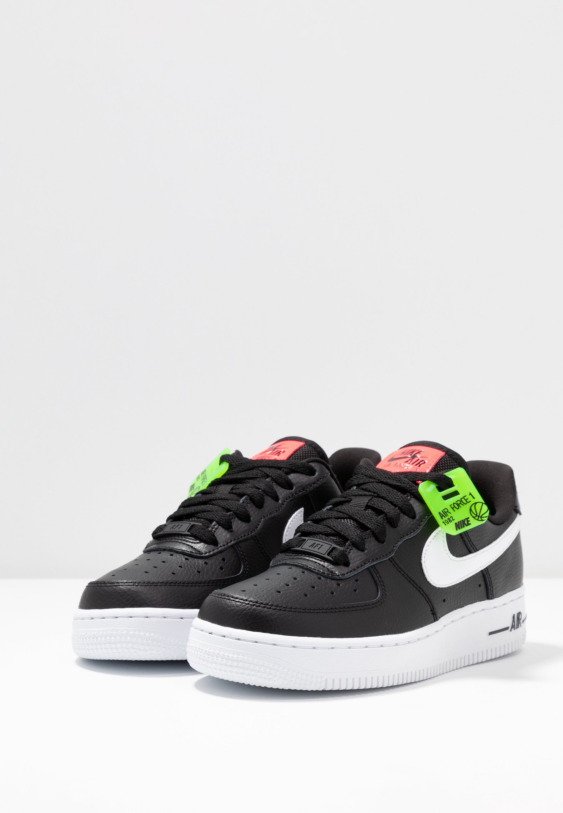Nike Sportswear AIR FORCE 1 - Sneakers basse - black/white/bright ...