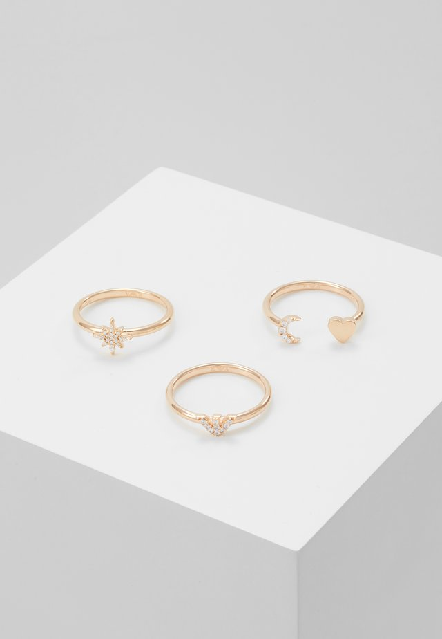 3 PACK - Sormus - rose gold-coloured