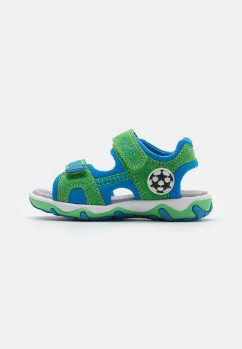 MIKE 3.0 - Walking sandals - grün/blau