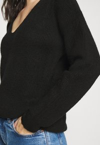 Pieces - PCBABETT  - Maglione - black