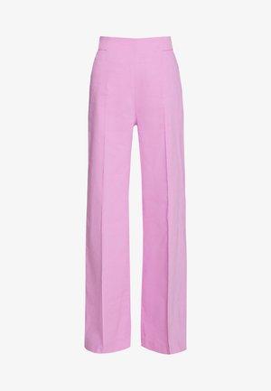 LUIGIA PANTALONE TELA DI  - Kalhoty - pink