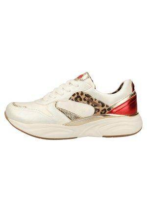 DOCKERS BY GERLI SNEAKER - Sneakers laag - weiss/multi 509