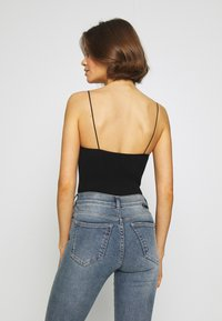 BDG Urban Outfitters - THONG BUNGEE STRAP BODYSUIT - Top - black - 2