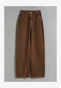Bershka - WIDE LEG - Flared-farkut - brown - 4