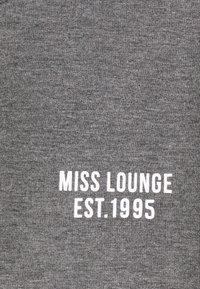 ONLY - ONLCAMILLA LOUNGEWEAR SET - Pyjamas - dark grey melange - 5