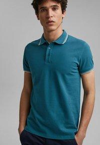 edc by Esprit - Polo shirt - petrol blue - 6