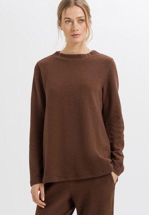 EASY WEAR - Strikpullover /Striktrøjer - dark brown