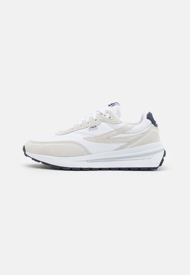 RENNO - Trainers - white/navy/red