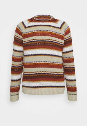 MANICA LUNGA GIROCOLLO - Stickad tröja - multi-coloured