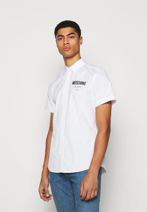 Shirt - fantasy print white