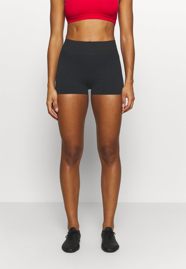 SHORT - Collant - black
