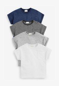 Next - 4 PACK  - T-shirt imprimé - multi coloured - 0