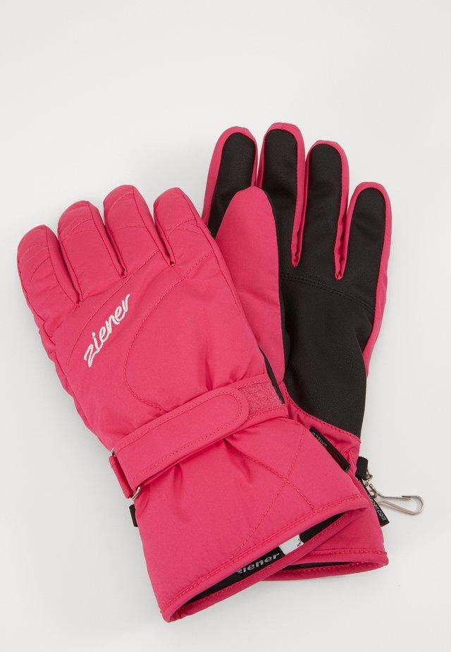 KADDY LADY GLOVE - Fingerhandschuh - pop pink