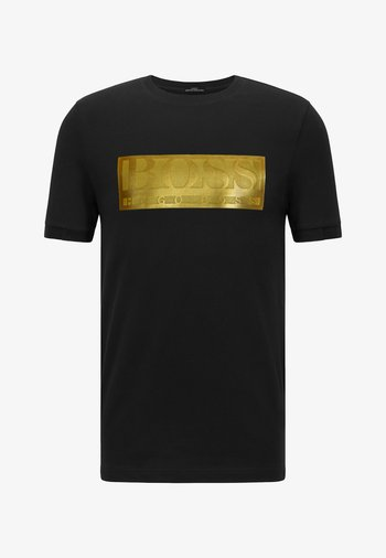 TEE BATCH  Z - Print T-shirt - black