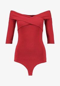 Even&Odd - BODYSUIT - Long sleeved top - red - 3