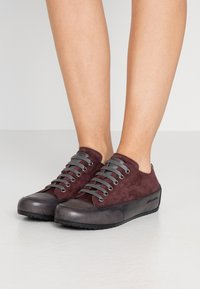 Candice Cooper - ROCK - Sneakers basse - evo mulberry/base antracite - 0