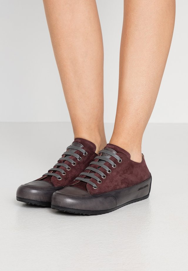 ROCK - Sneaker low - evo mulberry/base antracite