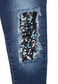 MINOTI - SEQUINS PATCHES - Jeans baggy - blue denim - 3