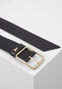 Patrizia Pepe - CINTURA BELT - Pasek - nero/gold-coloured - 2