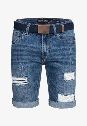 CUBA CADEN - Jeansshorts - blau