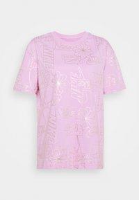TEE ICON CLASH - Print T-shirt - arctic pink