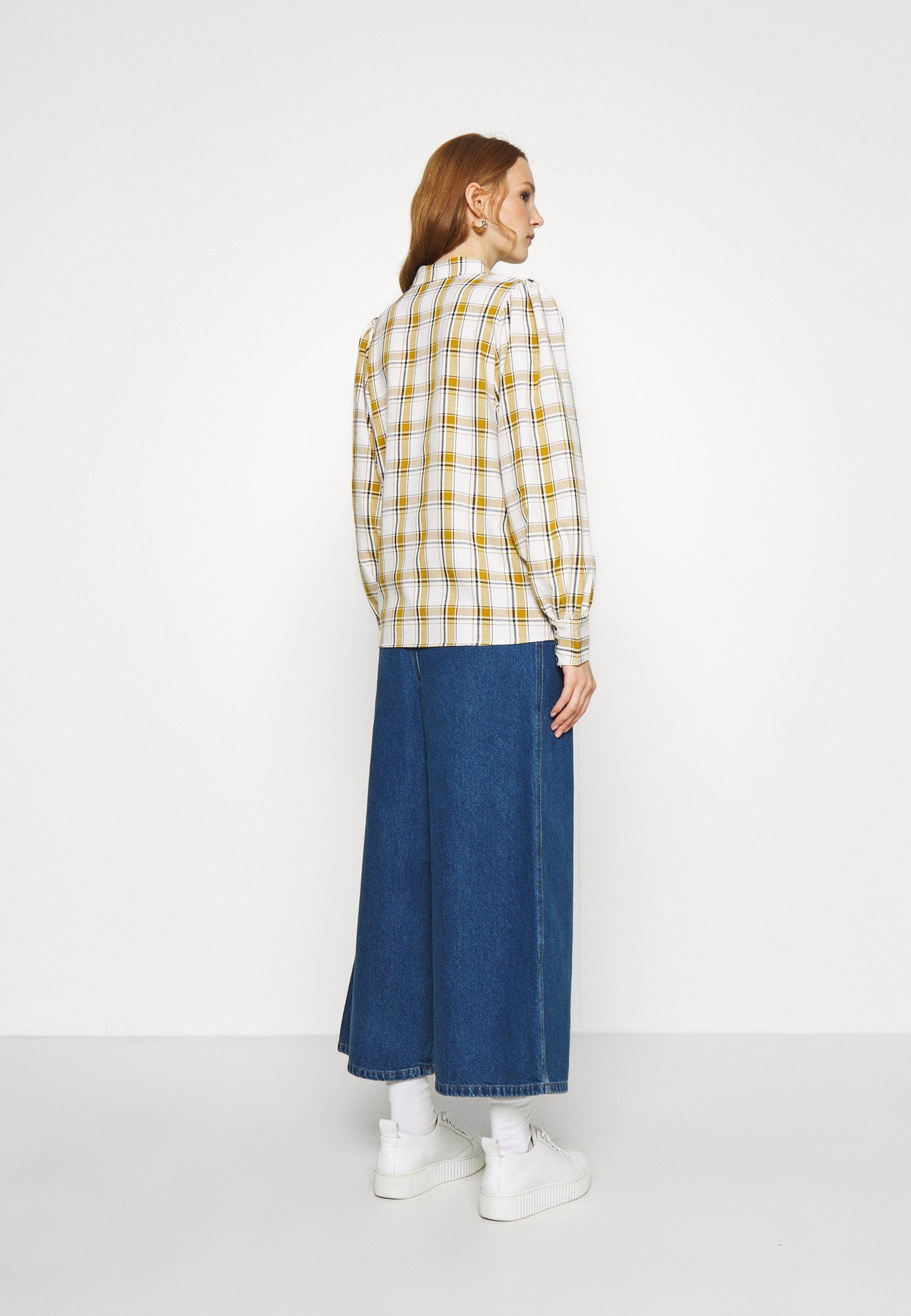Best Authentic Women's Clothing Gestuz Button-down blouse yellow M0HhIbGym