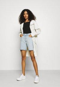 ARKET - SHORTS - Denim shorts - light blue - 1