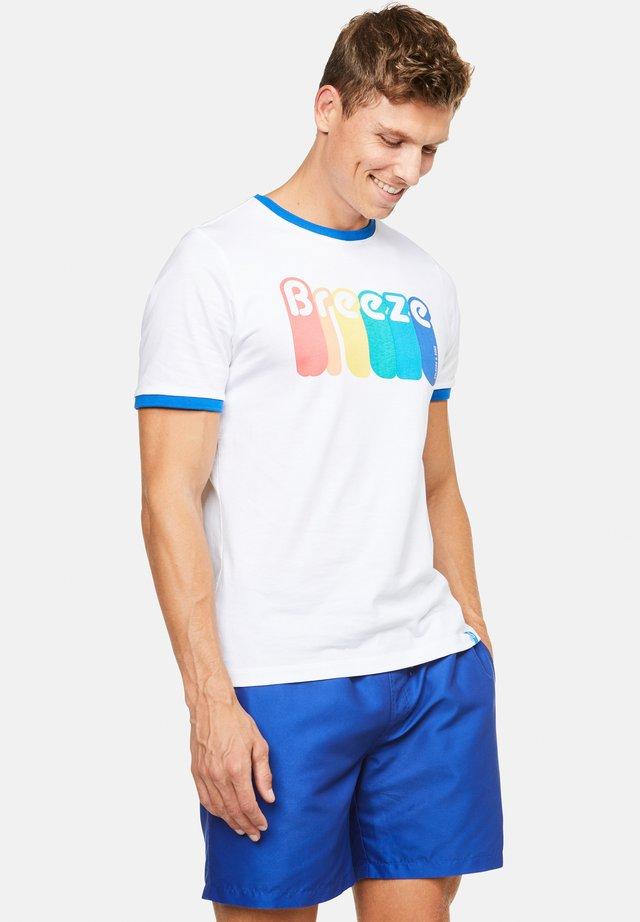 TYSON - T-shirt con stampa - weiß