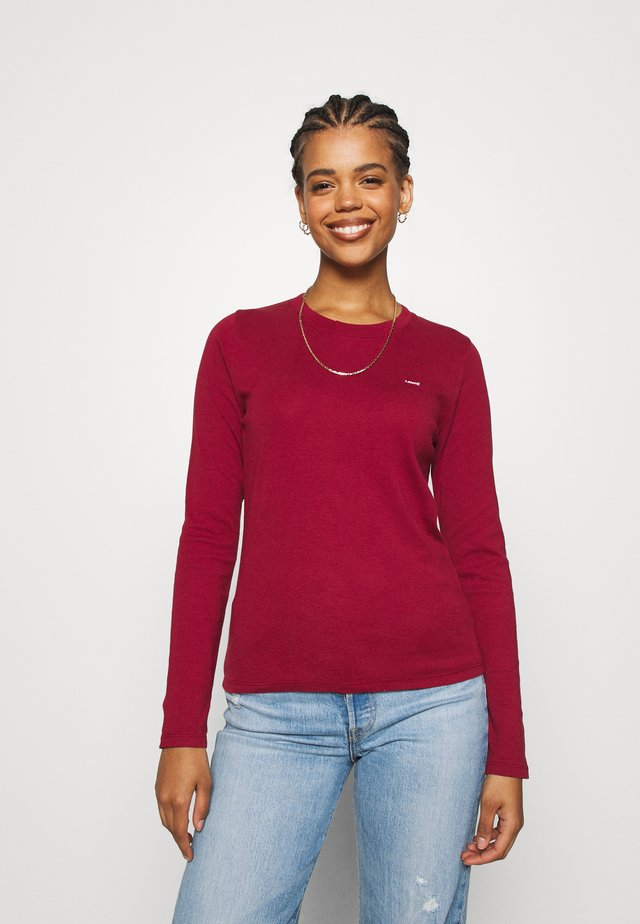 BABY TEE - Long sleeved top - biking red