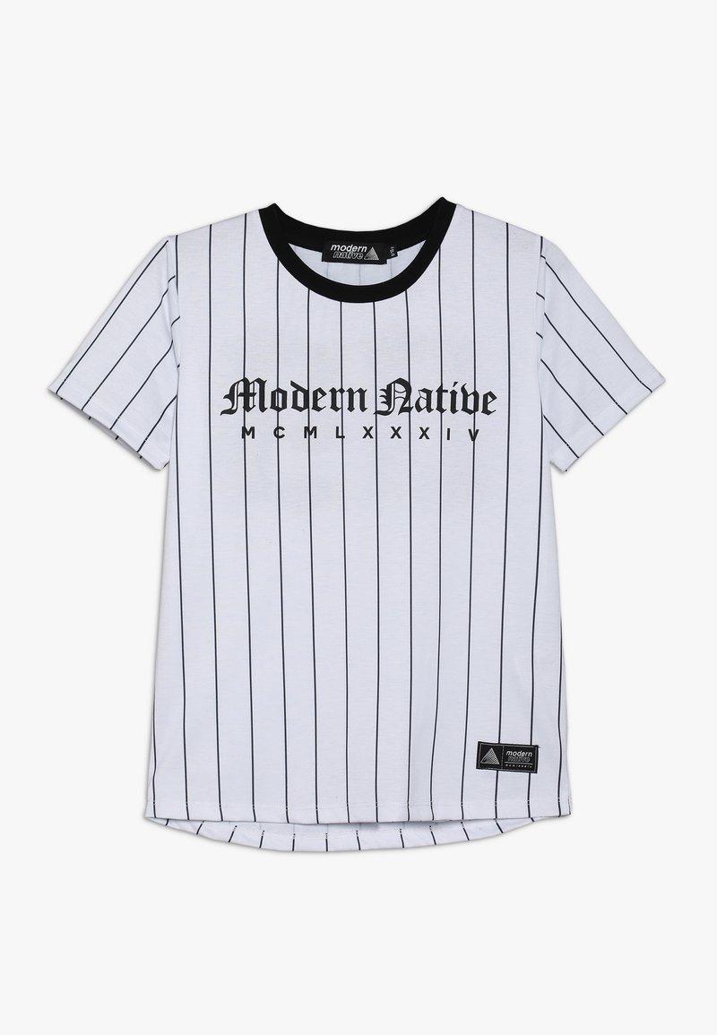 Modern Native - TEE WITH SCREEN PRINT - T-shirts print - white