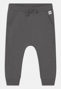 Lindex - SOLID UNISEX - Trousers - dark dusty grey - 0