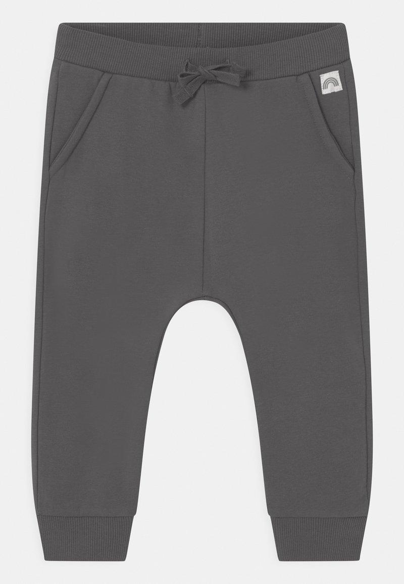 Lindex - SOLID UNISEX - Trousers - dark dusty grey