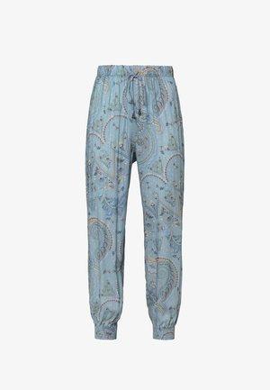 PAISLEY PRINT TURQUOISE  - Nattøj bukser - blue