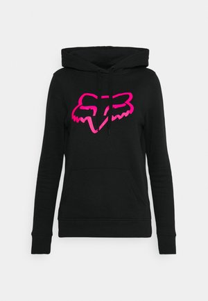 BOUNDARY - Sweatshirt - black/pink