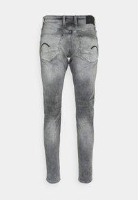 G-Star - REVEND SKINNY - Jeans Skinny Fit - elto black superstretch/faded seal grey - 1