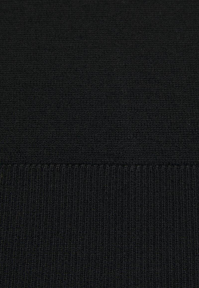 Jack & Jones JJEMARK CREW NECK - Strickpullover - black/schwarz HmvQwg