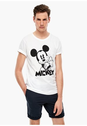 MIT DISNEY - T-shirt print - white placed print