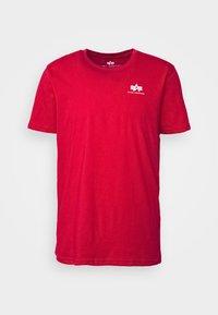 Alpha Industries - Print T-shirt - speed red - 4