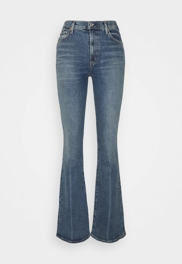 LILAH - Jeans Bootcut - light blue