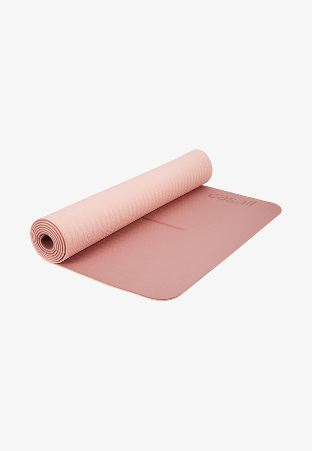 YOGA MAT POSITION 4MM - Fitness/yoga - calm red/energy pink