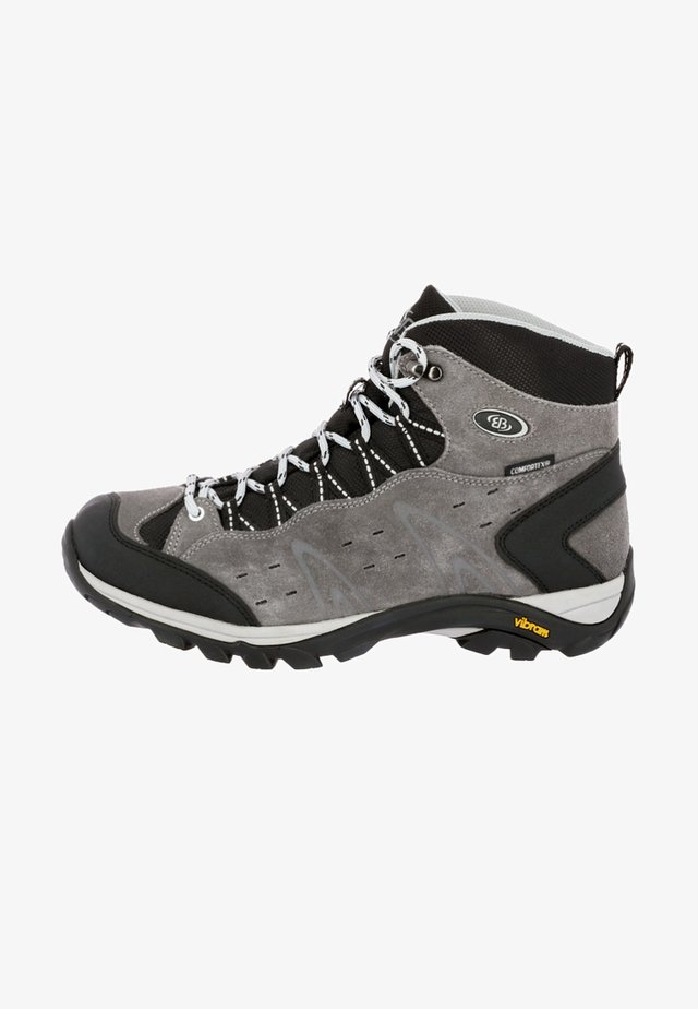 BONA HIGH - Hiking shoes - grey