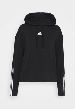 Bluza z kapturem - black/white