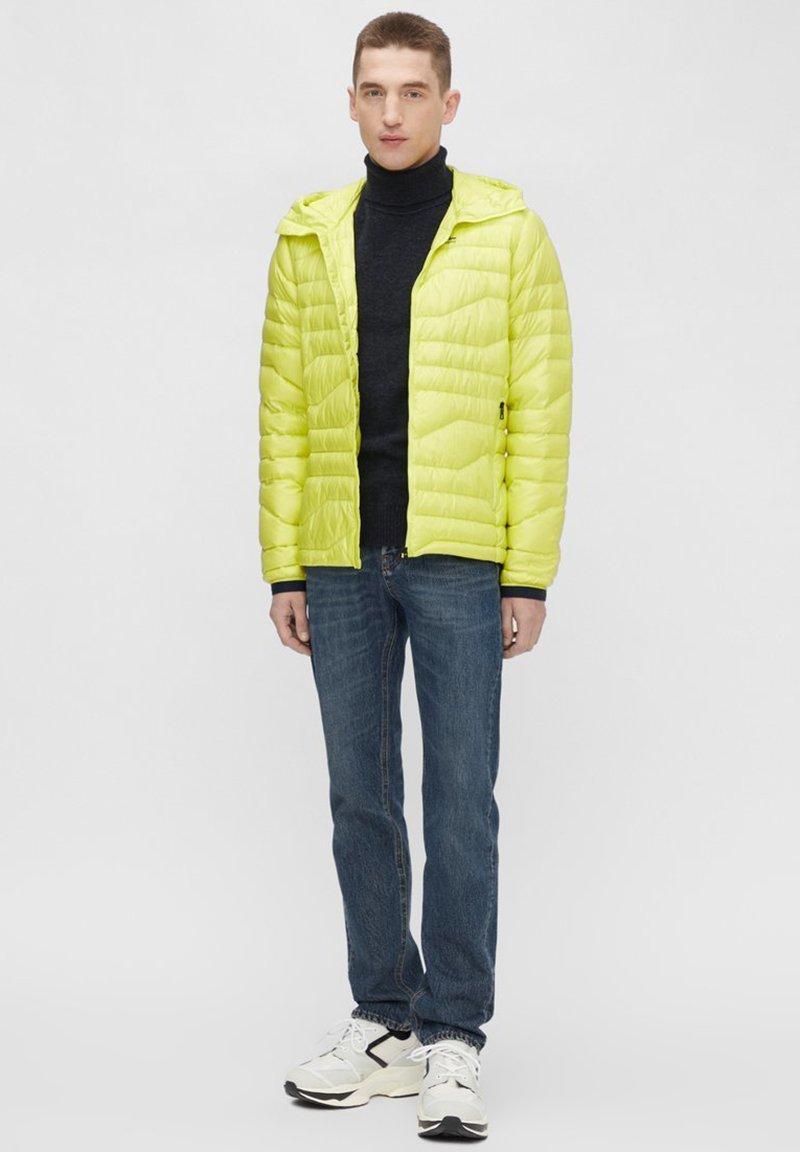 J.LINDEBERG ERIK - Daunenjacke - leaf yellow/gelb RrC6Gm
