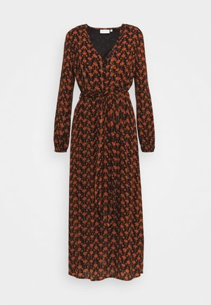 ISABELLA ISA DRESS - Day dress - black/rust