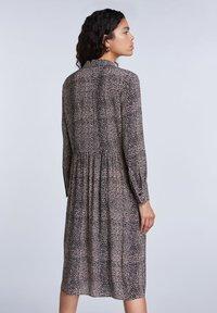 SET - Shirt dress - light stone grey - 2