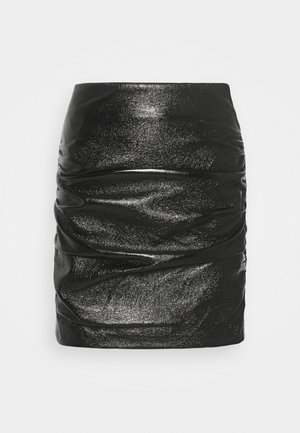 THE PHANTOM SKIRT - Spódnica mini - black