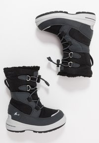 Viking - TOTAK GTX - Stivali da neve  - black/charcoal - 0