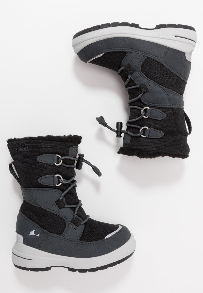 Viking - TOTAK GTX - Stivali da neve  - black/charcoal