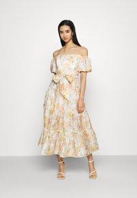 Forever New - LIA OFF SHOULDER TIERED MIDI DRESS - Maxi dress - vintage splendor - 0