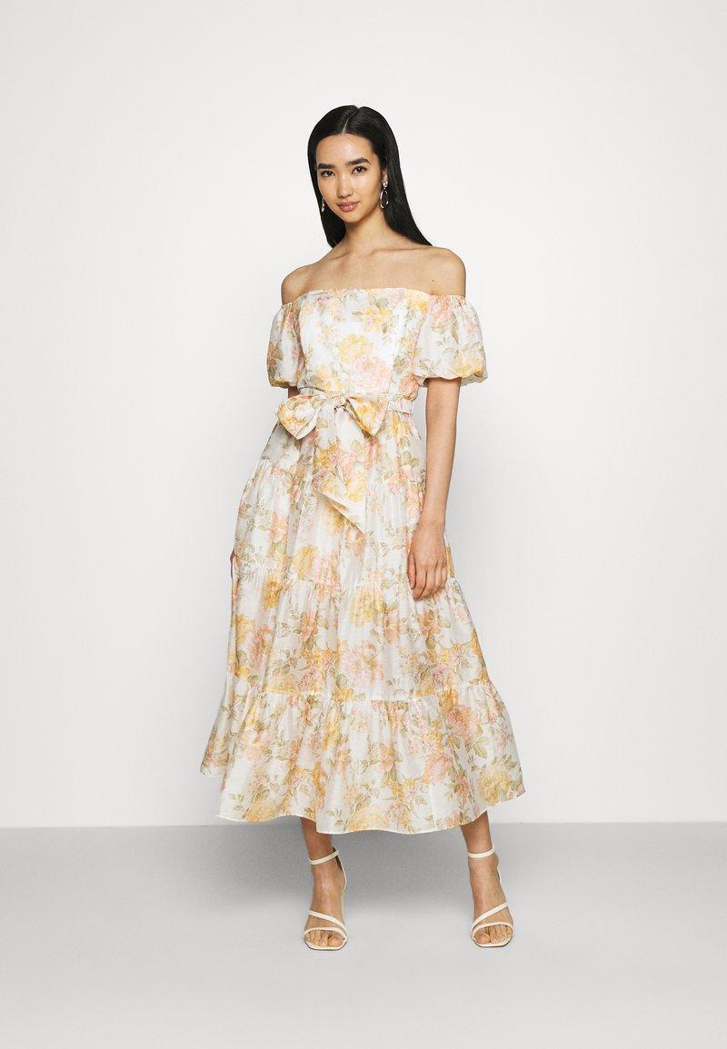 Forever New - LIA OFF SHOULDER TIERED MIDI DRESS - Maxi dress - vintage splendor